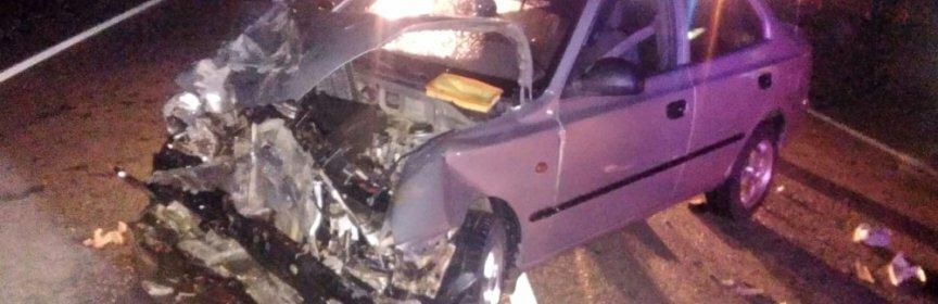 Пять человек госпитализировали после ДТП на трассе под Астраханью