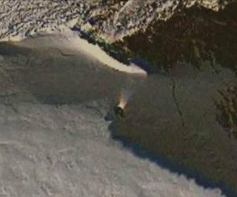 Уфолог с помощью Google Maps обнаружил в Антарктиде заброшенный НЛО