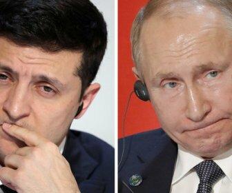 Путин осудил слова Зеленского о войне