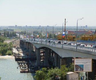 Левитин и Голубев открыли движение по Ворошиловскому мосту в Ростове
