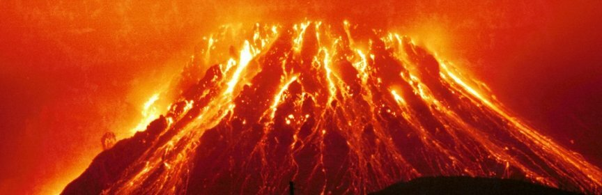 Ученые: Землю ждет глобальное извержение вулканов и апокалипсис